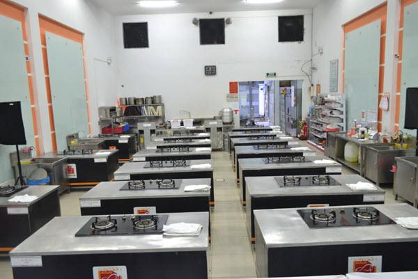 cơ sở vật chất ngành bếp