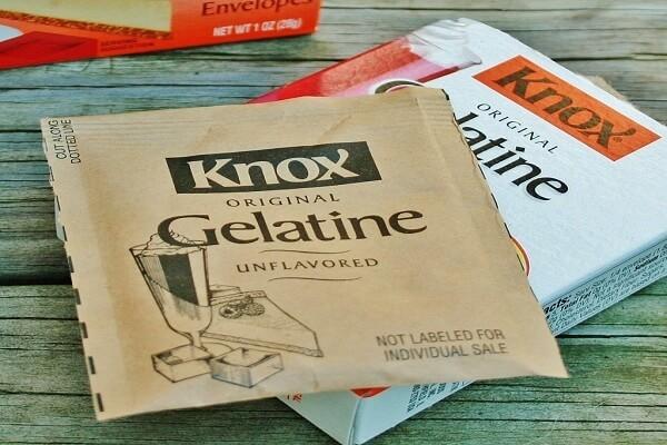 Gelatin là nguyên liệu thường xuất hiện trong các công thức làm bánh, nấu chè