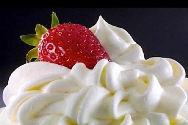 Topping cream
