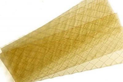 Lá Gelatin có ưu điểm giúp bạn dễ tính lượng cần sử dụng hơn dạng bột