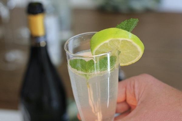 mojito champagne