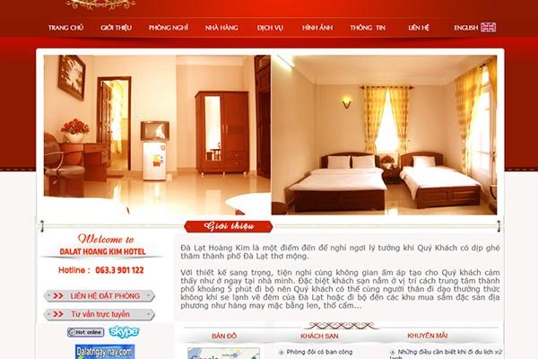 Website đặt phòng riêng giúp khách sạn nắm sự chủ động trong thông tin, hình ảnh