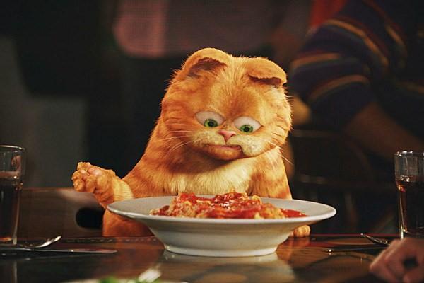 Chú mèo Garfield có phần góp công giúp món ăn lasagna phổ biến trên toàn thế giới