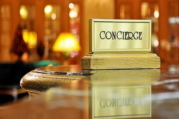 Concierge thuộc bộ phận tiền sảnh