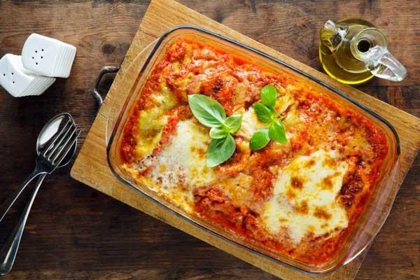 Lasagna là sự kết hợp tinh tế từ các hương vị đặc trưng của ẩm thực Ý