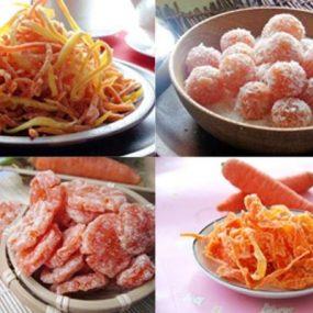 Tổng hợp các cách làm mứt cà rốt siêu ngon