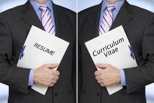 Resume và CV là 2 khái niệm rất dễ bị nhầm lẫn cho những người mới xin việc lần đầu