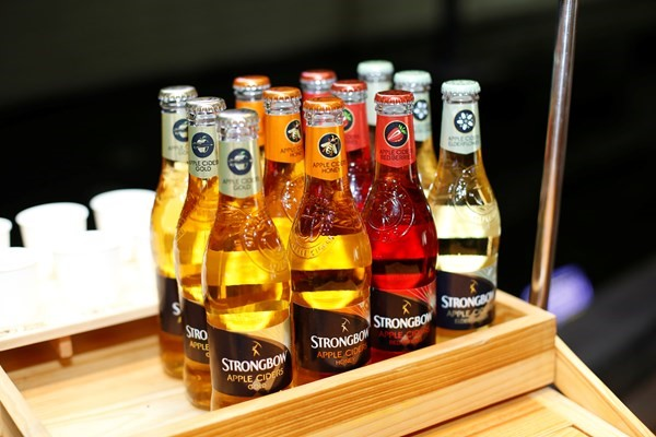 Strongbow một trong những thương hiệu về Cider nổi tiếng nhất hiện nay