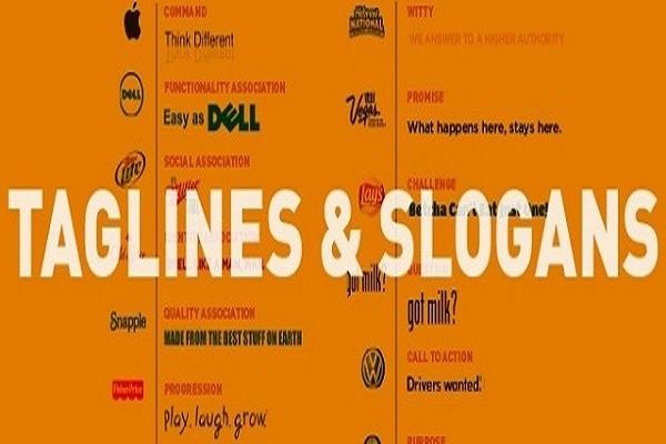 Tagline hay Slogan
