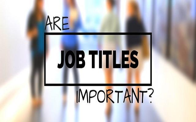 job title là gì