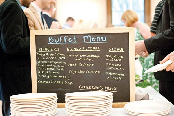 Menu buffet cần sự tính toán kỹ lưỡng, phức tạp hơn