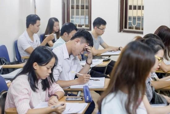 các lớp dạy ngoại ngữ