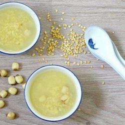 chè hạt sen đậu xanh