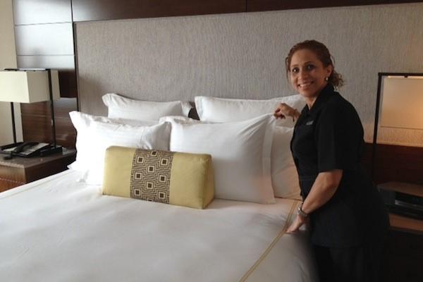 dọn phòng là công việc của housekeeper