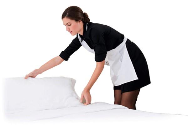 housekeeper mang lại những căn phòng sạch sẽ