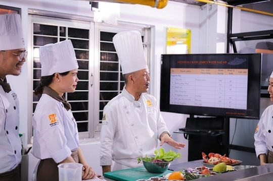 học phí học nghề nấu ăn bao nhiêu