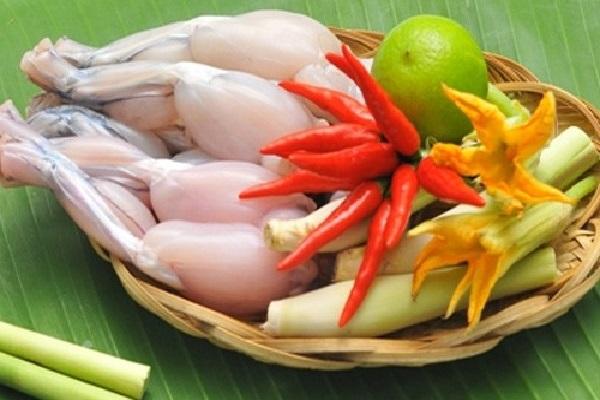 Thịt ếch chứa rất nhiều dinh dưỡng