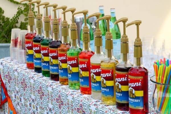 hình ảnh các thương hiệu syrup