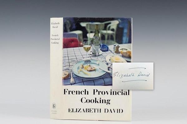 sách của nữ Đầu bếp Elizabeth David
