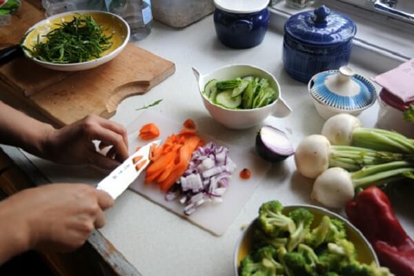 chế biến Salad