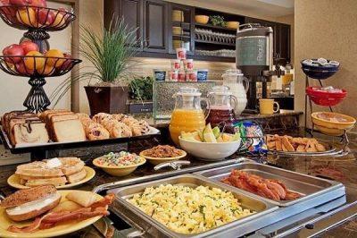 quy trình phục vụ buffet sáng