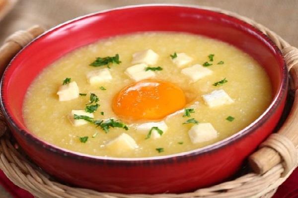 cách nấu cháo trứng gà