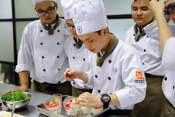 nền tảng nghề Bếp vững chắc