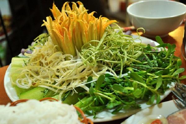 Các loại rau ăn lẩu