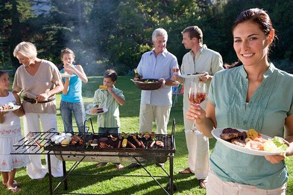 Tiệc BBQ tại nhà