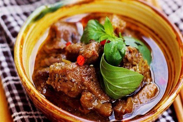 hình ảnh cách làm thịt vịt kho sả ớt