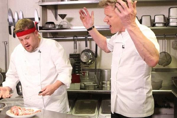 sự nghiệp của đầu bếp của Goldan James Ramsay