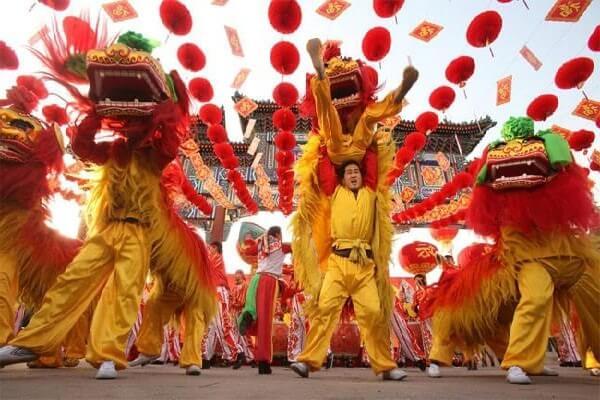 Lễ hội múa sư tử đặc sắc