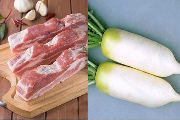 Nguyên liệu làm món thịt kho