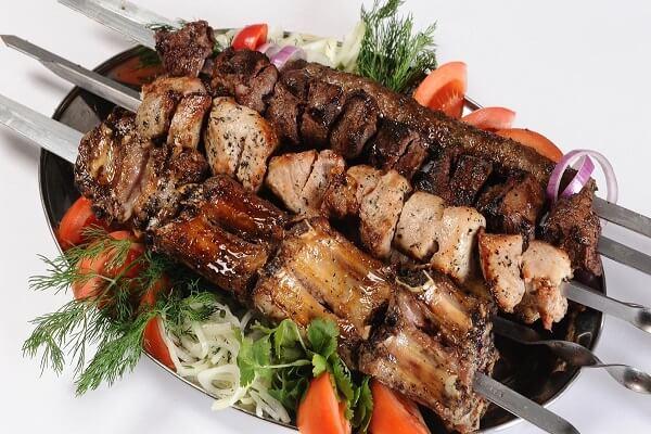 thịt nướng shashluk