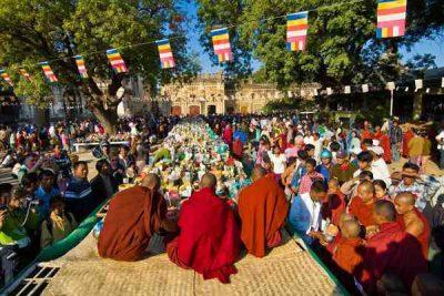 Tìm hiểu đặc trưng lễ hội và văn hóa ẩm thực của Myanmar