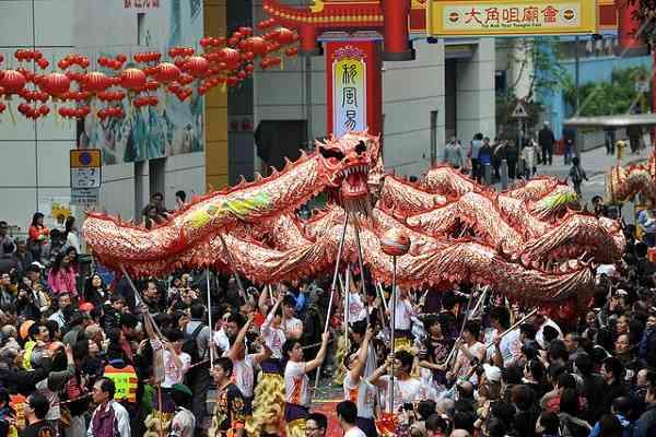 lễ hội Tai Kok Tsui