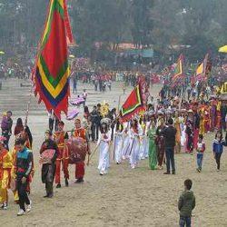 lễ hội đền cờn