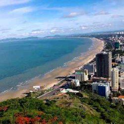 khung cảnh của thành phố biển vũng tàu