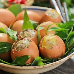 trứng gà nướng thái lan