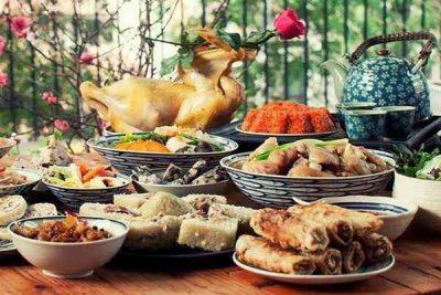 Nét độc đáo trong ẩm thực ngày tết của người Việt