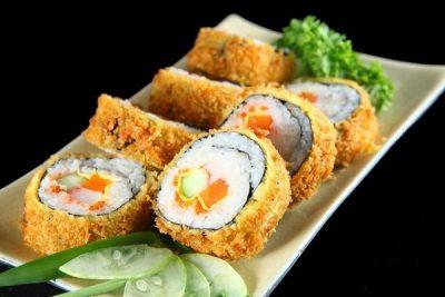 sushi chiên xù