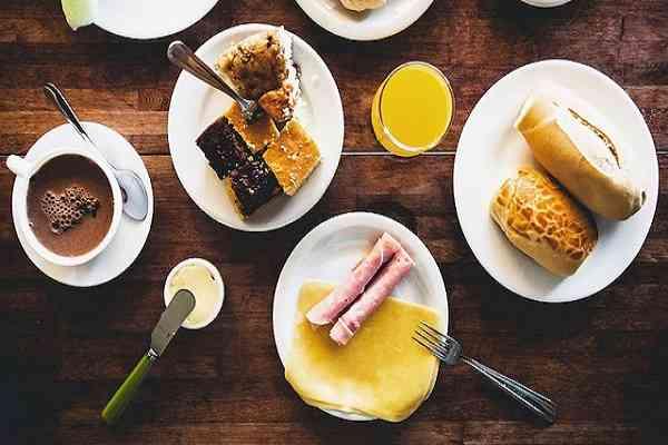 bữa sáng người brazil