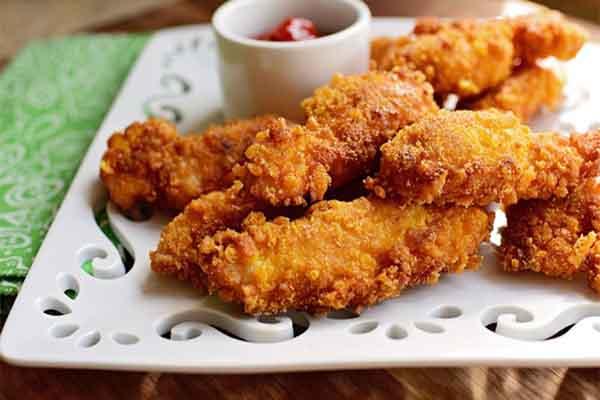 cánh gà chiên ngũ cốc
