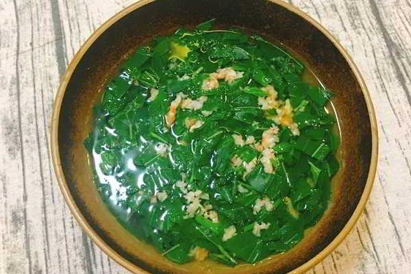 canh rau đay nấu tôm