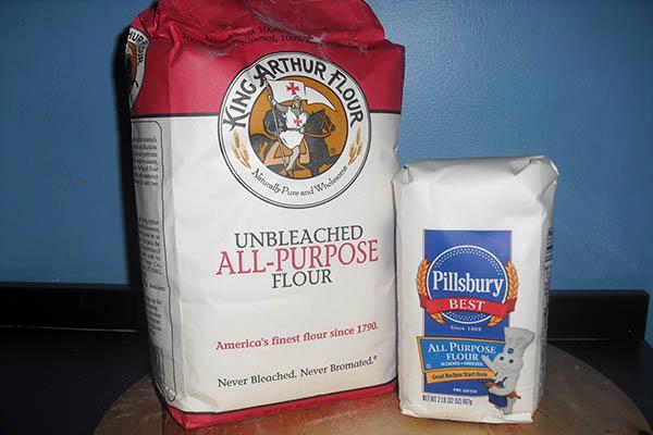 Hình ảnh phân biệt các loại bột mì