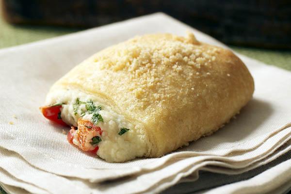parmesan được chế biến thành nhiều món ăn hấp dẫn