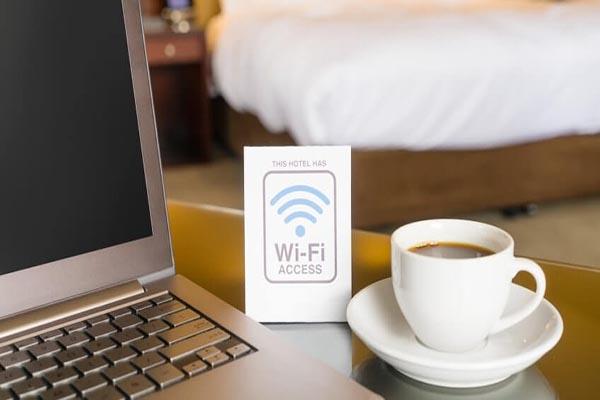 wifi được cung cấp trong tất cả các khách sạn