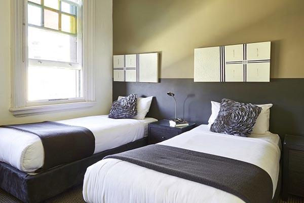 kích thước giường của twin room