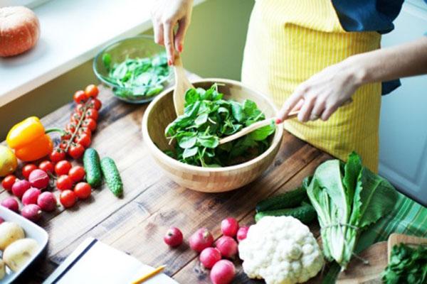 nên ăn nhiều rau xanh