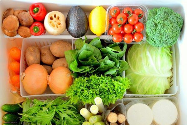 cách bảo quản rau củ trong tủ lạnh